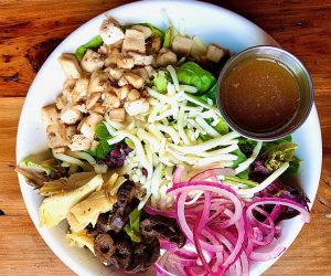 Wood Fired Chicken Salad